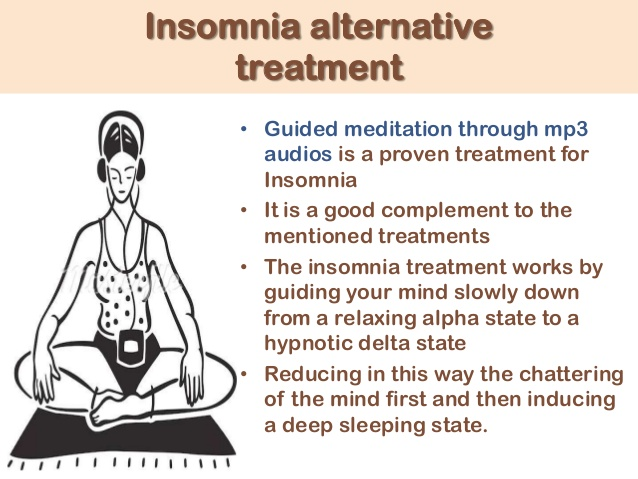 insomnia treatments